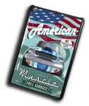 KOOLART AMERICAN MUSCLE CAR Retro Ford Shelby Mustang Case For iPad Mini